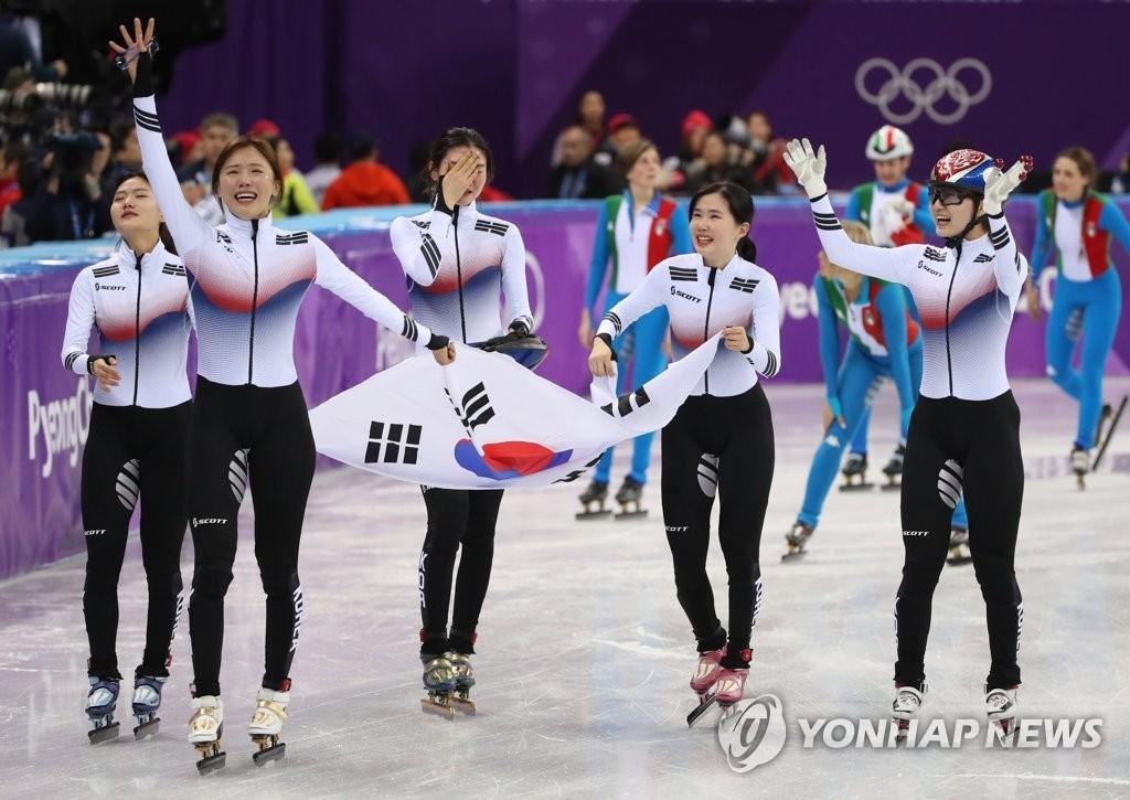 여자 계주 금메달, 이게 바로 '팀워크'다