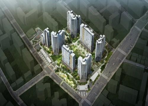 서울 서남권 교통요지 '당산 센트럴 아이파크' 견본주택 개관