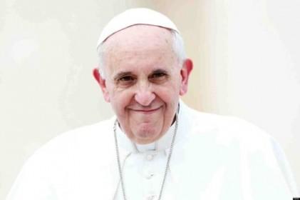 """文대통령 """"교황, 한반도 평화 위해 기도해달라"""""""
