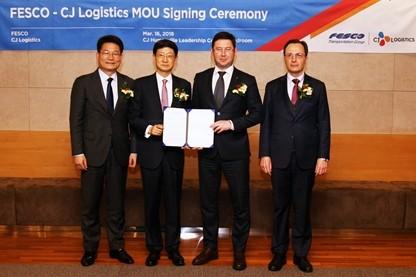 CJ대한통운, 러시아 물류기업과 손잡고 '북방물류' 개척