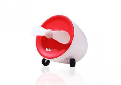브리츠, 선풍기 기능 품은 블루투스 스피커 'BA-FS1' 출시