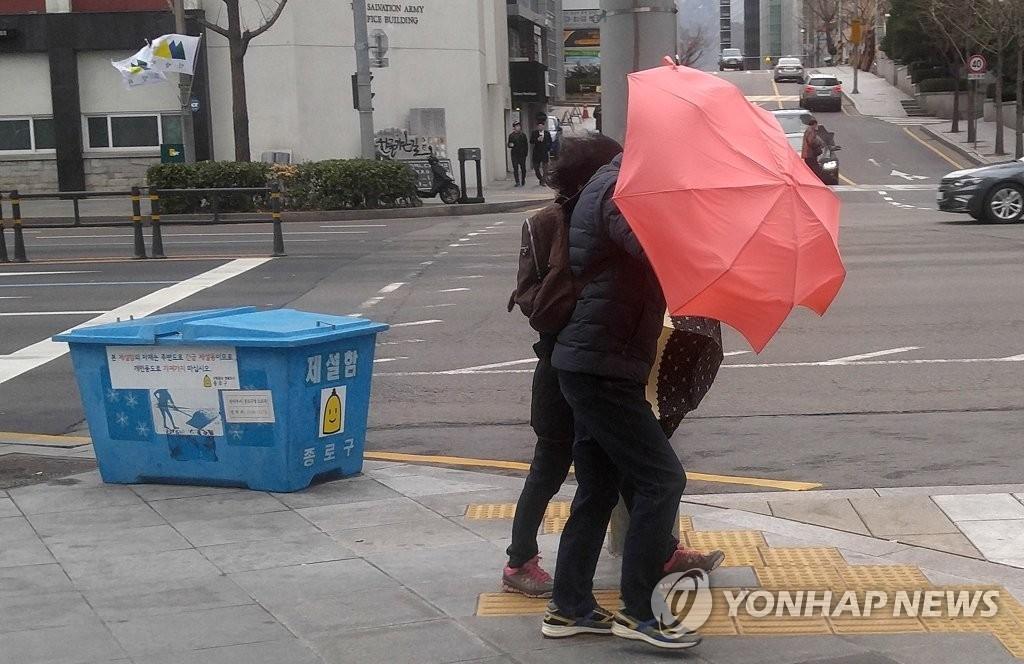 춘분, 전국에 꽃샘추위…흐리고 곳곳 눈·비
