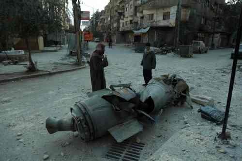 돌파구 보이지 않는 동구타 휴전 합의안… 민간인 사망자 471명 육박