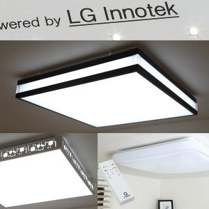 LED 방등 리모컨 등 기구 원형 사각 아크릴 KS