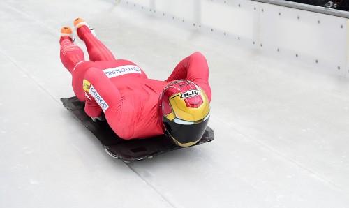 스켈레톤 윤성빈, WC 5차 대회 銀…여전히 세계랭킹 1위