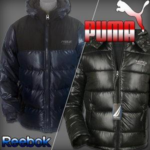정품 푸마 PUMA 리복 거위털 오리털 패딩 나이키 자켓